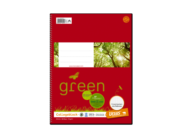 Ursus® green Collegeblock